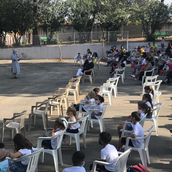Inaugurato l'anno scolastico a San Severo con il Vescovo ed il Sindaco - IMG_9515_40ff89da64e203f28538589828e945b1