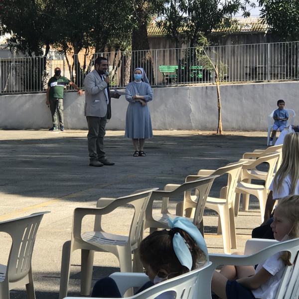 Inaugurato l'anno scolastico a San Severo con il Vescovo ed il Sindaco - IMG_9527_a48370229e48d47bd08cee785b452a1b